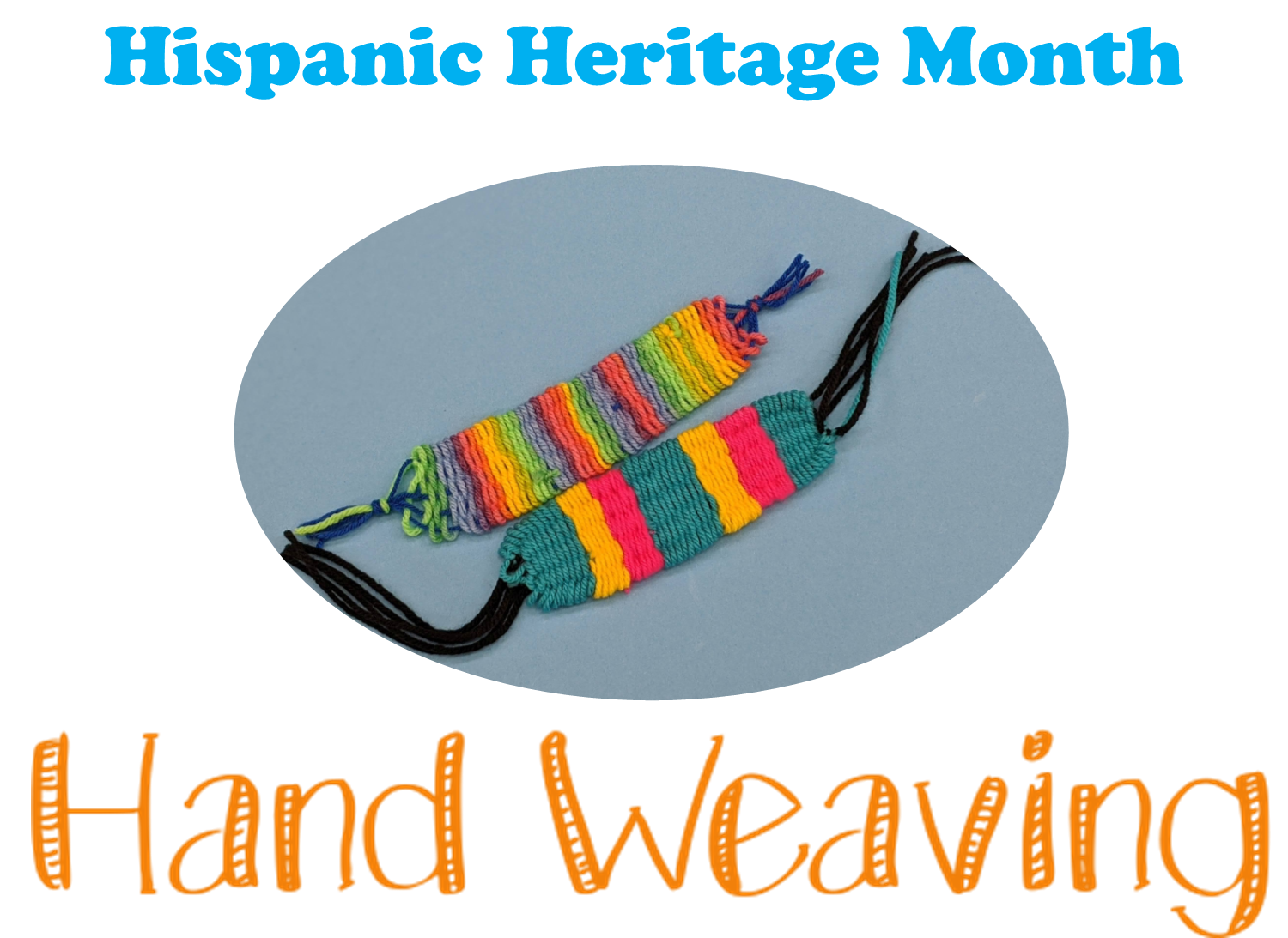Hand weaving craft kits will be available for curbside pick up starting Sept. 21st at the Main Library