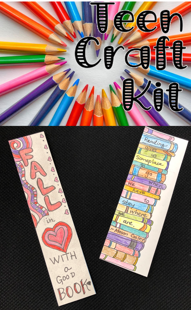 Teen Craft Bookmarks