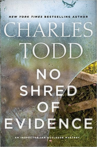 No Shred of Evidence book cover
