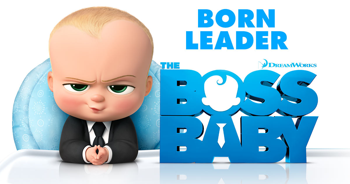 Boss Baby movie poster