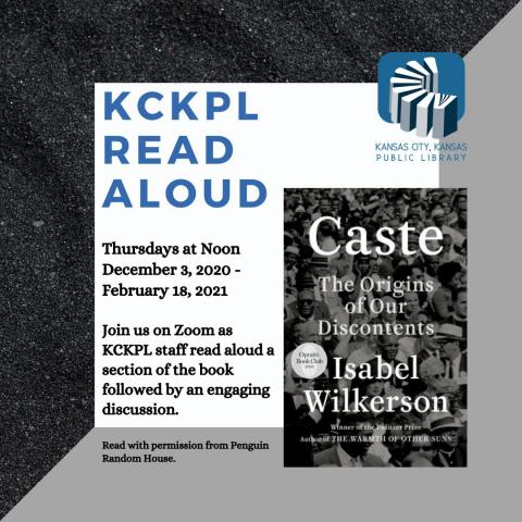 KCKPL Read Aloud flyer